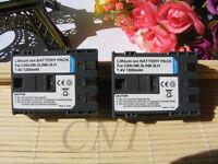 TWO (2)  NB-2L 2LH Li-ion Battery for Canon EOS 350D 400D S30 40 S5 50 55