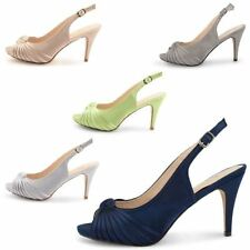 Stiletto Slingbacks Evening Sandals & Beach Shoes for Women
