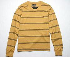 Alpinestars Beatnic V Neck Long Sleeve Shirt (L) Dark Gold