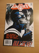 MARVEL: THE PUNISHER #102, CLASSIC BULLEYE COVER, LOW PRINT RUN, 1995, VF/NM!!!