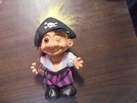 """RUSS """" Pirate with Yellow Hair""""  Troll Doll  5"""""""