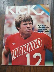 HTF Kick Magazine June 14 1978 ⚽ Kyle Rote Tornado 🌪 NASL North American Soccer