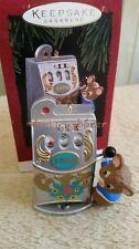 Hallmark 1996 Jackpot Jingle Mouse Slot Machine Christmas Ornament