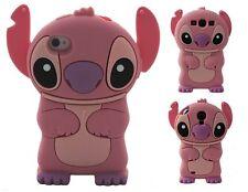 NUEVO Funda Carcasa Cover silicona 3D Lilo & Stitch iPhone 4 de mayo S C 6S Para