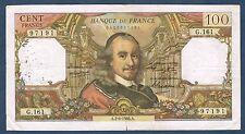 FRANCE - 100 FRANCS CORNEILLE Fay n° 65. 13 du 2-6-1966. en TB  G.161 97191