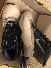 Used Nike Nike Shox Status TB - Midnight Navy/White Basketball Shoes Men's 9.5