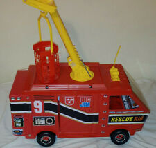 Vintage 1973 Mattel Big Jim Rescue Rig w/ accessories and radio Offers Welcome