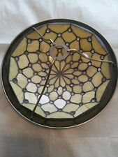 Vintage Tiffany Style Stained Glass Light Shade Ceiling Light Uplighter #830