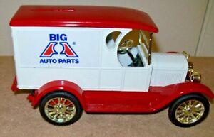 1923 Chevy Delivery Van Coin Bank with Key Big A Auto Parts ERTL 1:25 # 2941