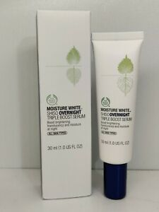 The Body Shop MOISTURE WHITE™ SHISO Overnight Triple Boost Serum 1oz / 30ml