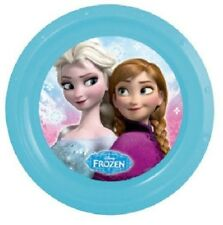 Disney Frozen Plastic Kids Picnic Lunch Plate Party Plate 21cm