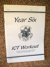 KS2 ICT WORKOUT BOOK - YEAR 6