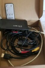 3 Port HDMI Switch with Remote Control 3 In 1 Out Plus High Speed Cables
