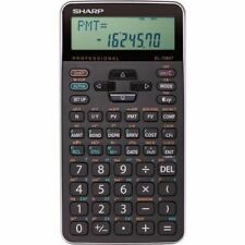 Sharp 10-digit Professional Financial Calculator EL738XTB