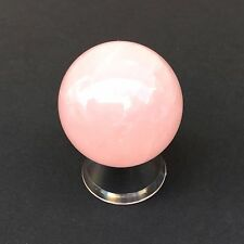 Rose Quartz Crystal Sphere- 40 mm with free stand