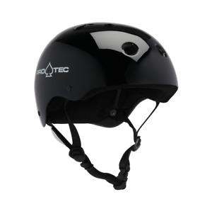 ProTec Classic Skate Gloss Black Skateboard Helmet
