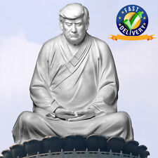 NEW Buddha Statue Of Trump Make Your Company Great Statue 16CM Office Ornament
