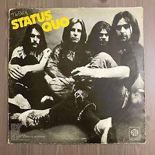 STATUS QUO The Best Of Status Quo 1973 UK vinyl LP A