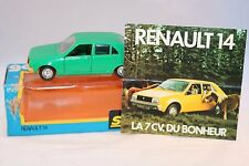 Solido 43 Renault 14 green 1:43 perfect mint in box