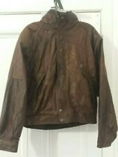 HUNTING HORN CLASSICS Brown Genuine Leather Jacket