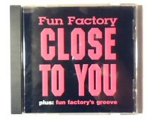 FUN FACTORY Close to you cd singolo USA 5 TRACKS COME NUOVO LIKE NEW!!!