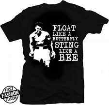 Muhammad Ali Float Like a Butterfly Sting Like a Bee Greatest Boxing T-Shirt