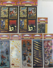 Harry Potter and the Sorcerer's Stone Stickers 8 Packages 15 Sheets OOP
