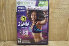 Microsoft Xbox 360 Zumba Fitness Rush  - Video Game