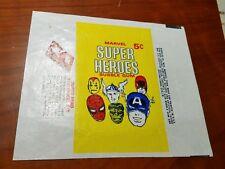 1966 Donruss MARVEL Super Heroes Original Wax Pack Wrapper Clean!!