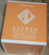 RALPH LAUREN HOME FRAGRANCE  CITRUS LILY SCENTED CANDLE NWT