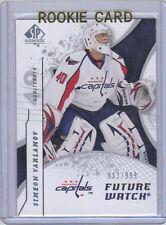 08-09 SP Authentic Simeon Varlamov Rookie Card RC #176 932/999 Mint Rare