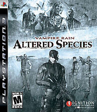 Vampire Rain Altered Species (Sony PlayStation 3) Complete, Free Shipping*