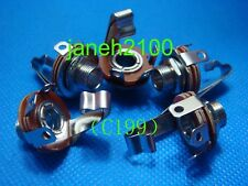 "12pcs 1/4"" 6mm stereo Output TRS PANEL Jack"