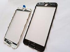 iPhone 7+ Negro coldpress MARCO+Bonded Cristal & Pre aplicado OCA Lámina (3 en 1