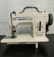 Portable Walking Foot Machine Sewstrong Re 607 Free Shipping