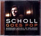 Andreas SCHOLL GOES POP Beauty Pleasure Never Again ORLANDO Roland Kinz CD NEU