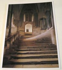 England Stairs to the Chapter House Wells Cathedral L0129 Jarrold - posted