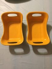 Lot Of 2 Rachael Ray Gradient Bubble & Brown 12-Ounce Augratin Baker Yellow Gold