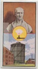 William Murdoch Coal Gas Lighting Invention Vintage Trade Ad Card