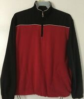 Callaway Golf Sport Men Size Medium 1/4 Zip Pullover Fleece Sweatshirt Jacket