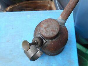 Vintage oil dispensing can, Braime of Leeds