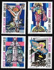 Vatican Birds Holy Year 1983 4v MNH SG#793-796 SC#721-724