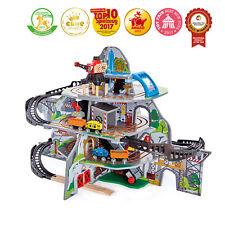 HAPE E3753 Mighty Mountain Mine Train Set Wood Plastic Railway 32pcs Children 3+