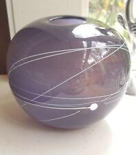 Australian 1986 Michael Hook Glass Vase