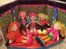 Groovy Girls Dolls AND Foldable Room AND Clothing and Accessories