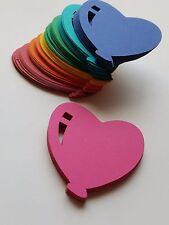 Heart Balloon Scrap Booking Die Cut Outs