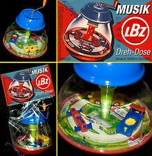 LORENZ BOLZ ZIRNDORF MUSIKDREHDOSE | BLECH + PLASTIK AUTOS WESTERN GERMANY 70er