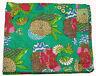 Indian Handmade Quilt Vintage Kantha Bedspread Throw Cotton Blanket Ralli Gudari