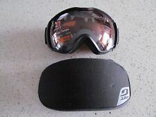 Julbo Ski Snowboard Goggles Airflux Black Grey Polarized Cat 3 All Weather New