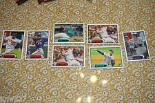 Lot of 7 2012 Topps Series 1 Rookie Lot  #243 277 235 274 243 263 219 Baseball